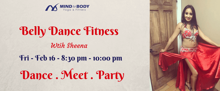 Belly Dance Fitness ($20 per person)