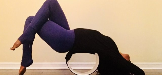 Yoga Wheel Stretch Workshop ($55 + HST) with Kristeen