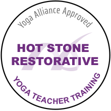 Hot Stone Restorative Yoga Teacher Training in Mississauga