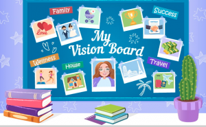 vision board workshop in Mississauga