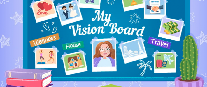 2020 Vision Board Party ($35 + HST) with Sara